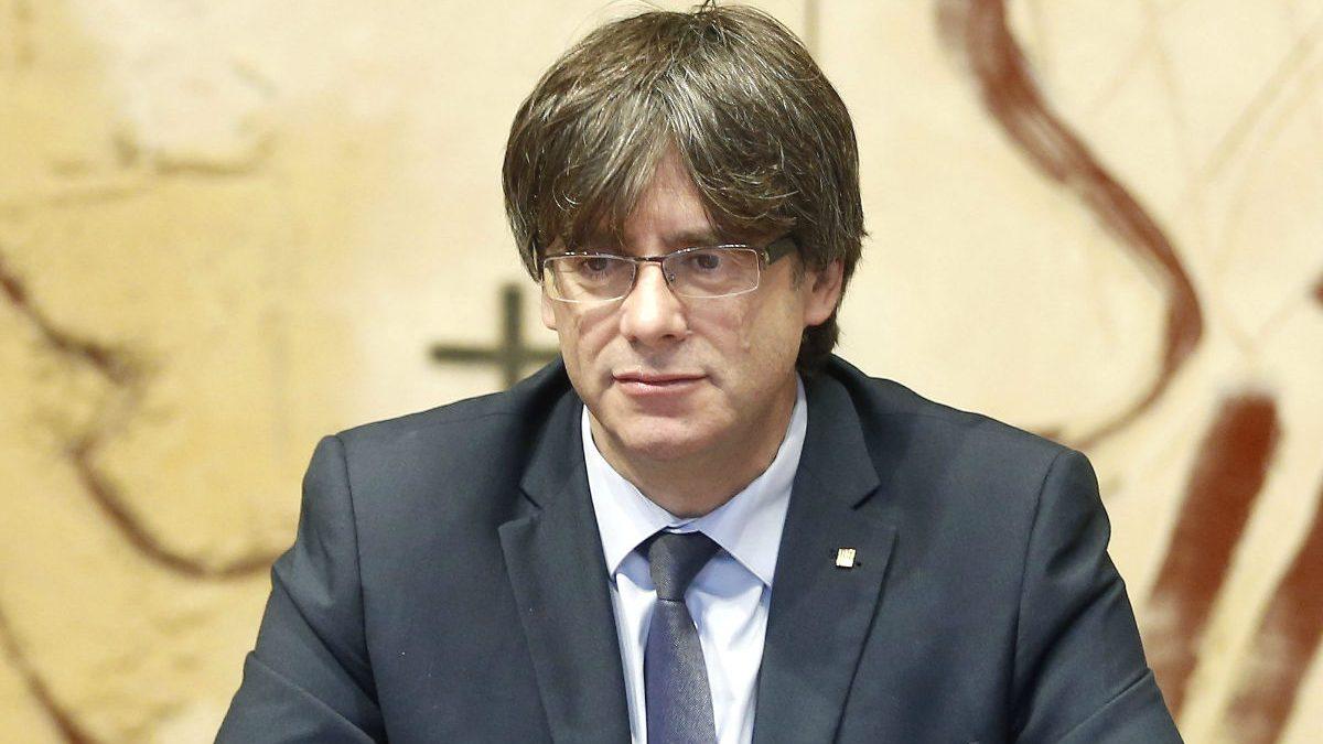 El presidente de la Generalitat, Carles Puigdemont. (Foto: EFE)