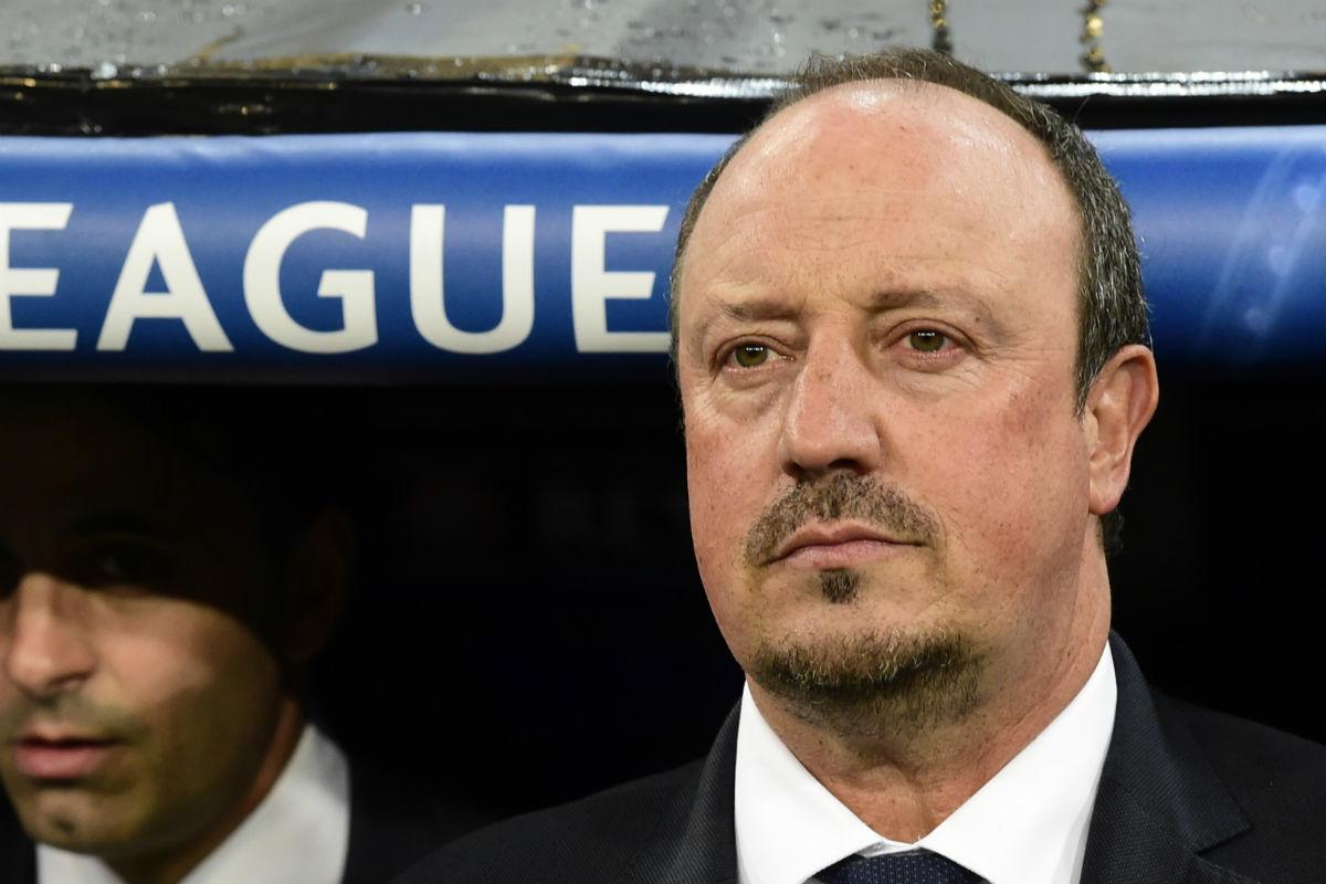Rafa Benítez no se sentará más en el banquillo del Real Madrid. (AFP)