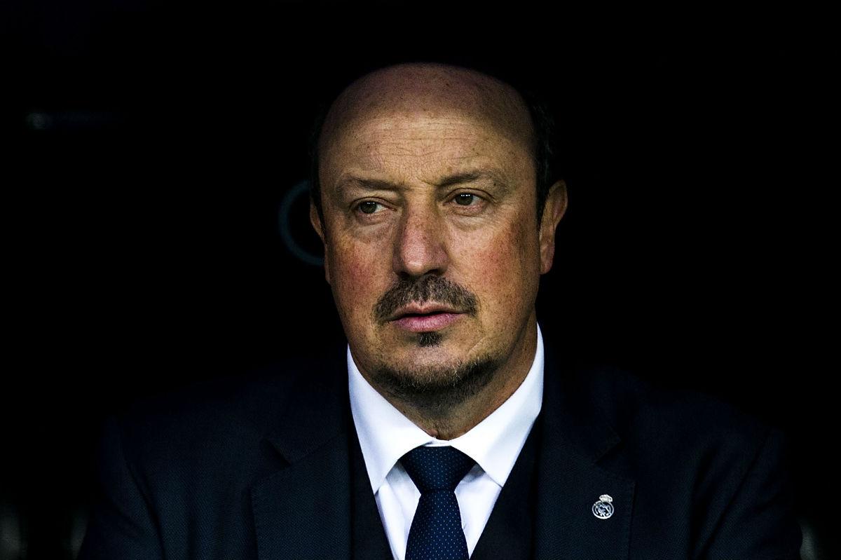 Rafa Benítez deja de ser entrenador del Real Madrid. (Getty)