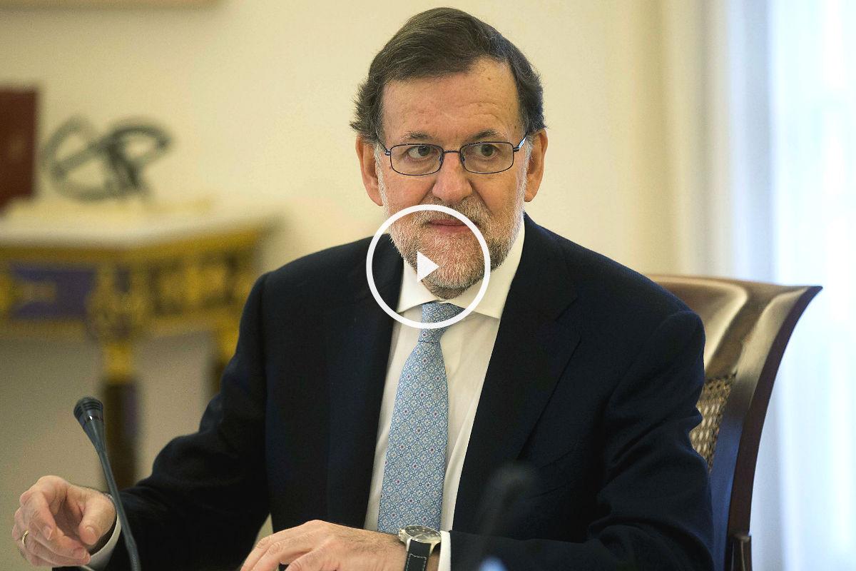 El jefe del Gobierno en funciones, Mariano Rajoy