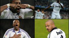 Robinho, Baptista, Adebayor y Faubert están sin equipo.