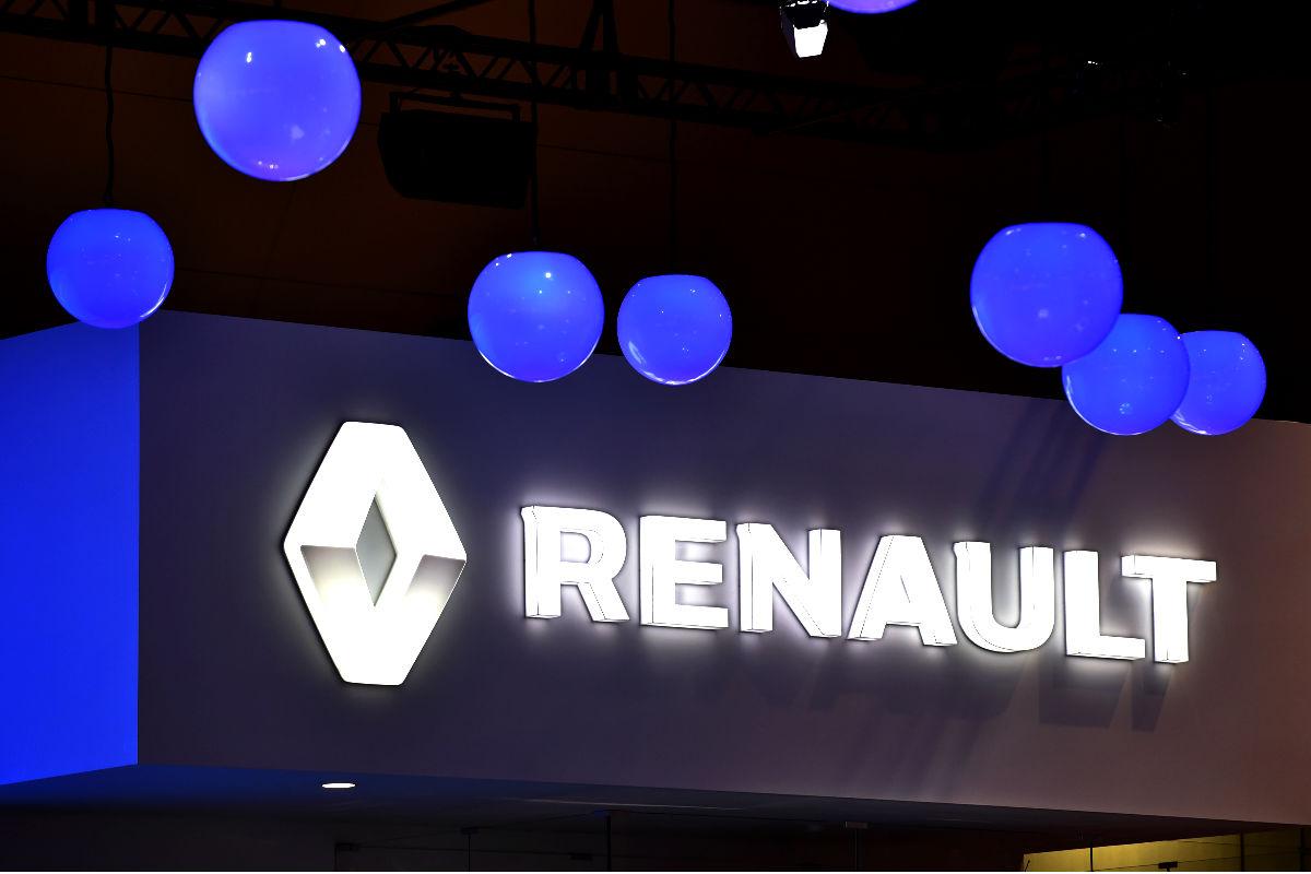Imagen del logo de Renault (Foto: AFP).