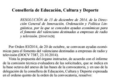 resolucion dic14