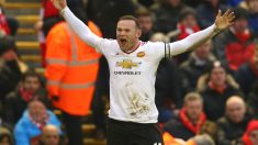 Rooney marcó el gol de la victoria para el United. (Getty)