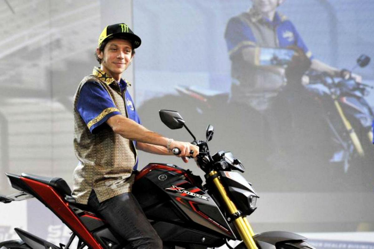 Valentino Rossi, de vacaciones en Bali.