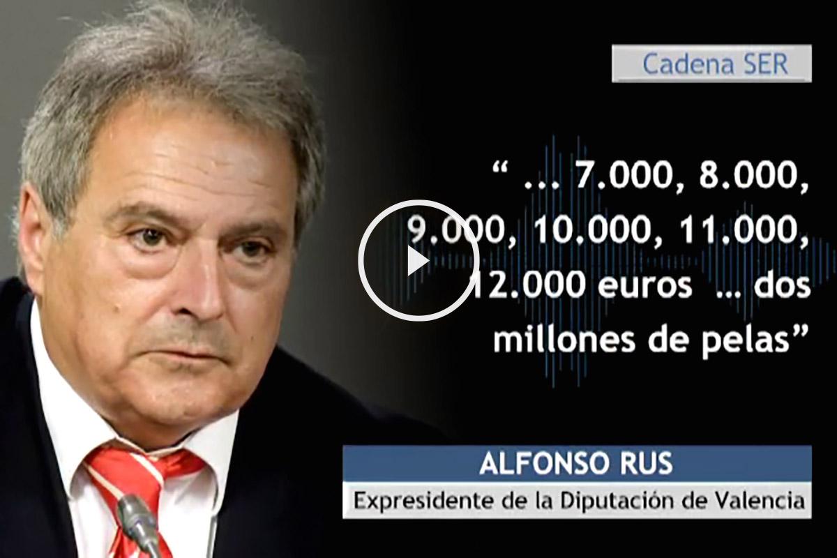 Alfonso Rus, cita de la conversación telefónica (atlas)