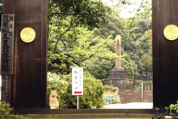 Uno de los templos de la isla de Okinoshima.