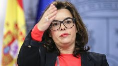 Soraya Sáenz de Santamaría. (Foto: EFE)