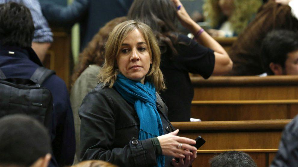 La diputada de Podemos Tania Sánchez. (Foto: EFE)
