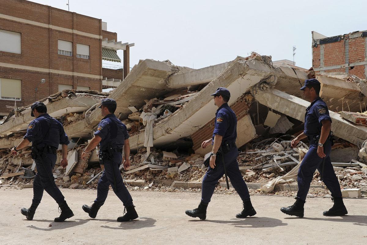 Terremoto en Lorca en 2011. (Foto: Getty)