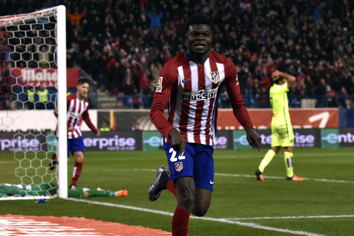 Thomas marcó el único gol del encuentro. (AFP)