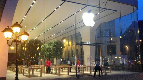 Tienda de Apple en Bruselas. (Foto: OKDIARIO)