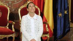 Uxue Barkos, presidenta de Navarra. (Foto: AFP)