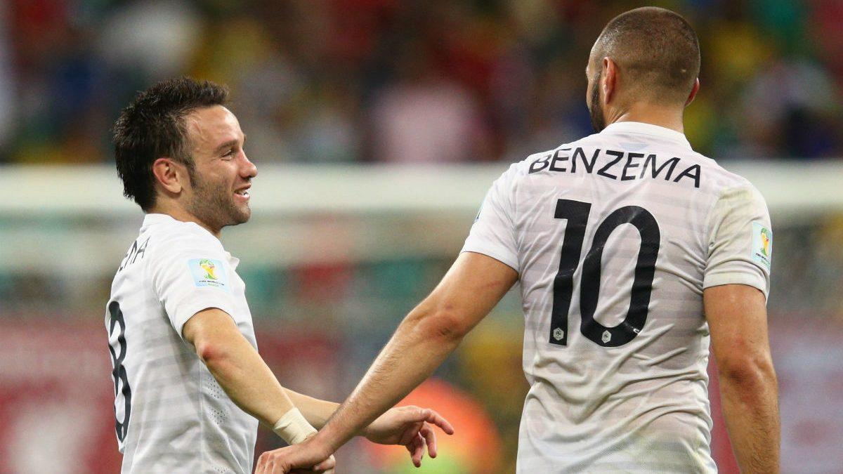 Valbuena y Benzema no estarán en la Eurocopa. (Getty)