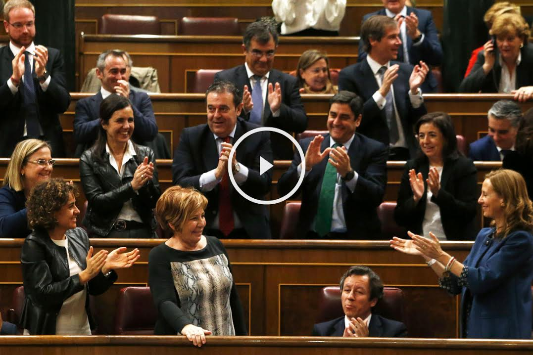 Celia Villalobos en el Congreso (Foto: Efe).