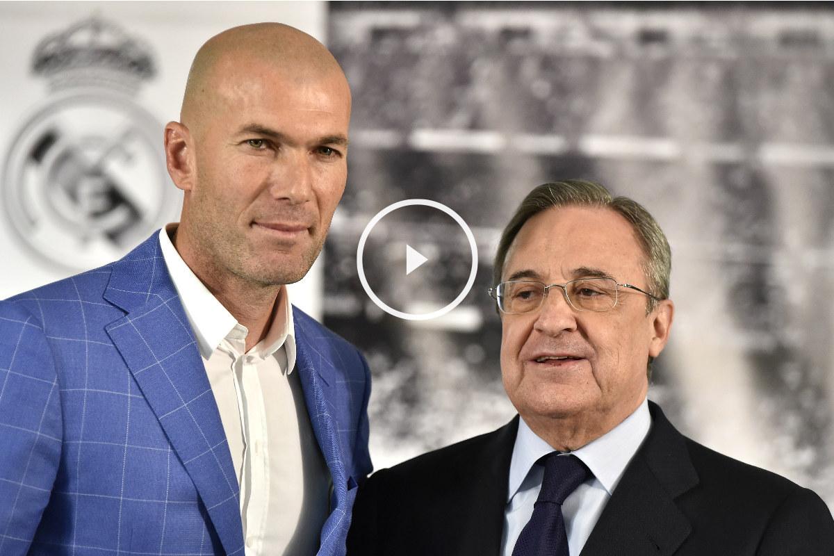Zidane toma las riendas del Real Madrid. (AFP)
