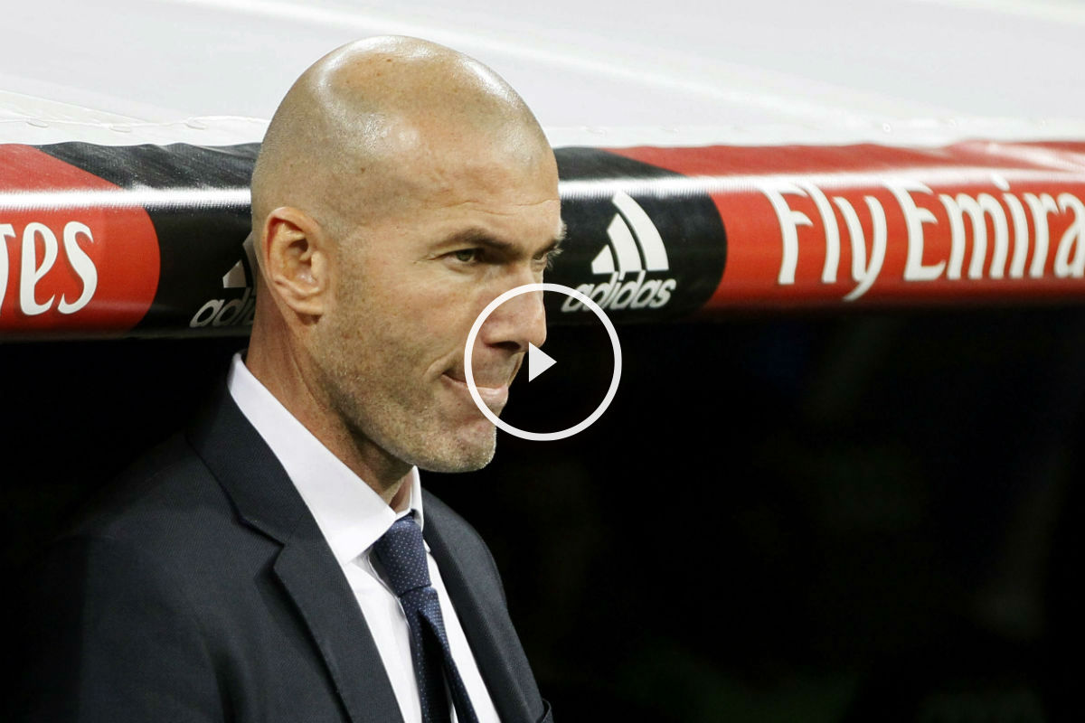 Zidane debutó con victoria. (Getty)