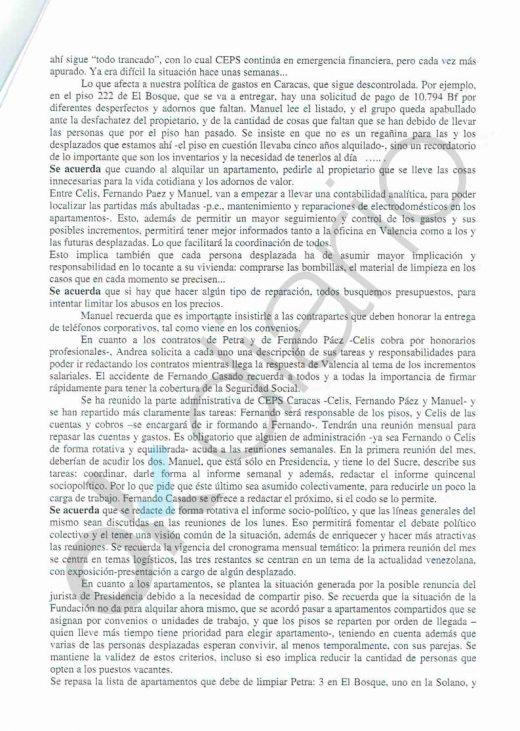 Los empleados de la fundación de Iglesias se quejaban de «explotación laboral»