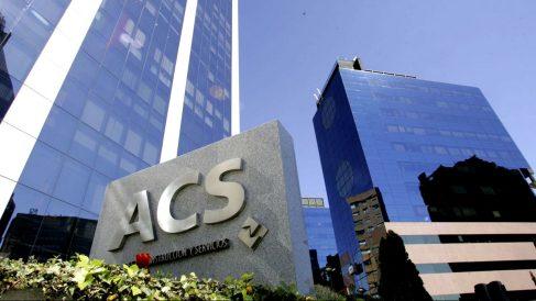 Fachada de la sede corporativa de ACS.