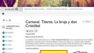 Imagen de la web del Ayuntamiento.