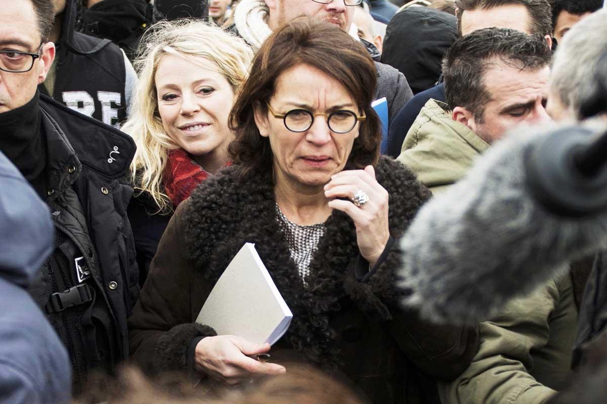 La jueza Valerie Quemener, en Lille (Foto: Reuters)