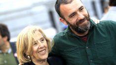 Manuela Carmena con Ignacio Murgui. (Foto: EFE)