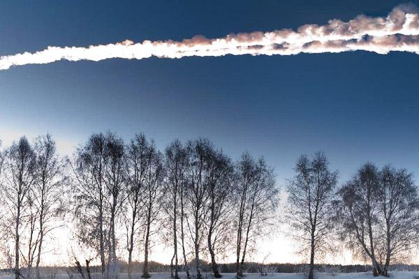 Imagen del asteroide que pasó por Chelyabinsk hace tres años