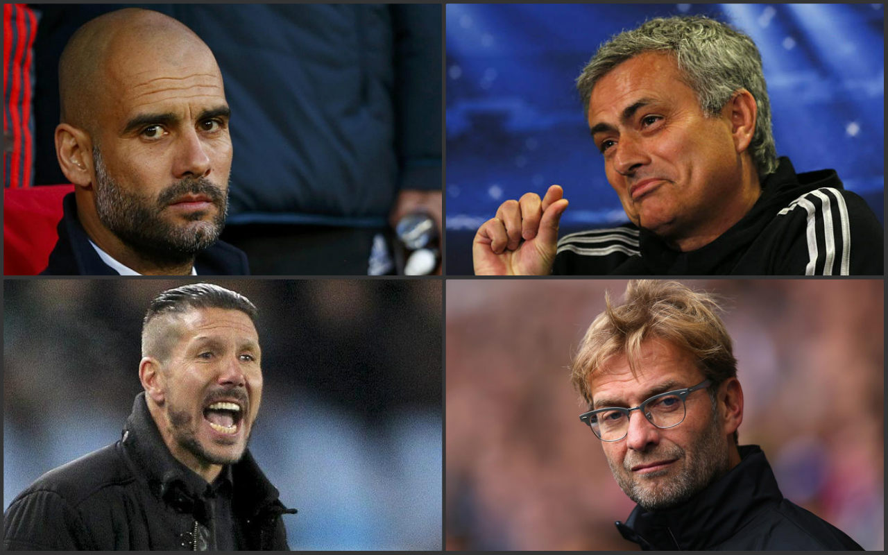 Cuatro grandes técnicos podrían encontrarse el año próximo en la Premier.