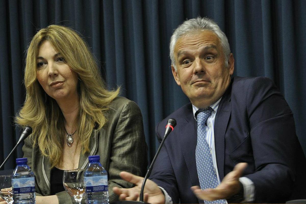 Escañuela y Aguilera, en una rueda de prensa en el COE.
