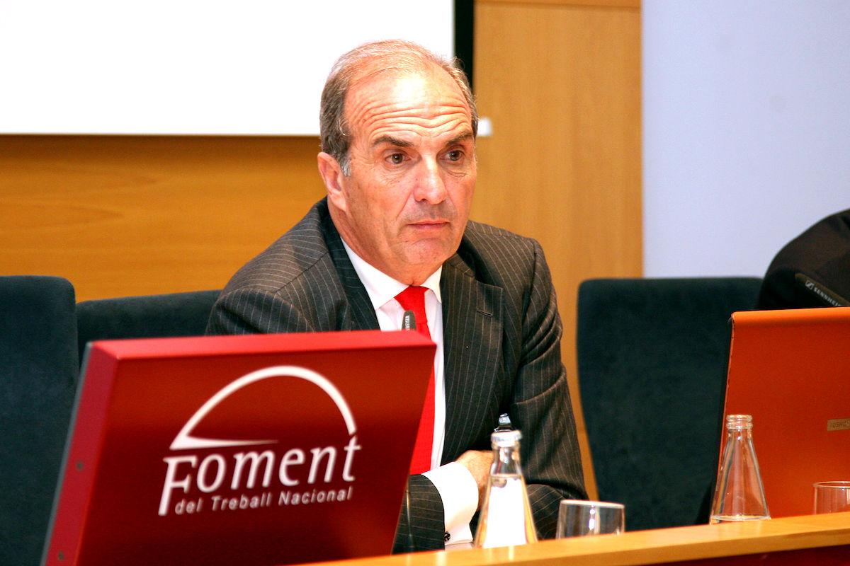 Joaquim Gay de Montellà, presidente de la patronal catalana Fomento del Trabajo.