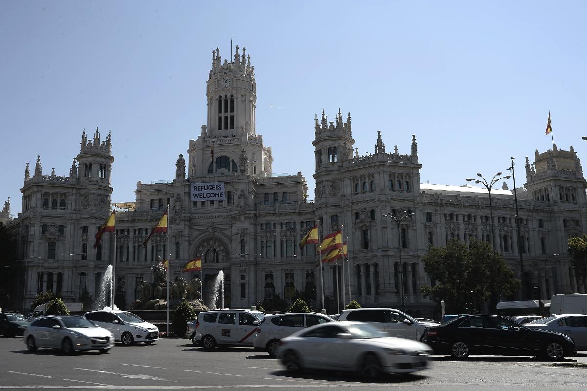 La sede del Ayuntamiento en Cibeles. (Foto: GETTY)
