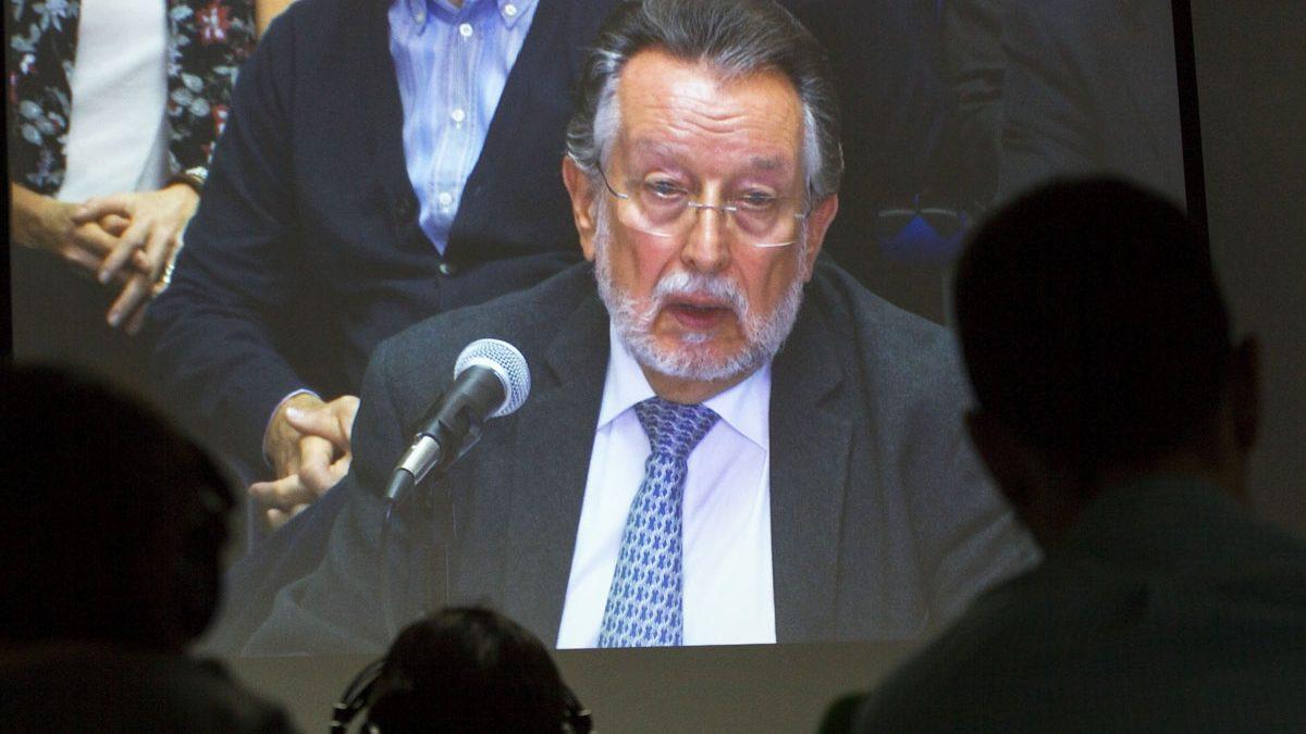 Alfonso Grau, durante su comparecencia ante el tribunal (Foto: EFE)
