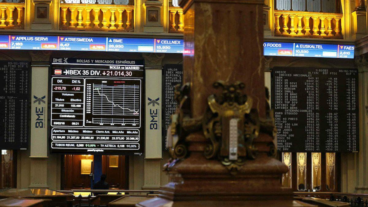 Bolsa de Madrid. (Foto: EFE)