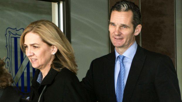 Caso Nóos: Infanta Cristina e Iñaki Urdangarin
