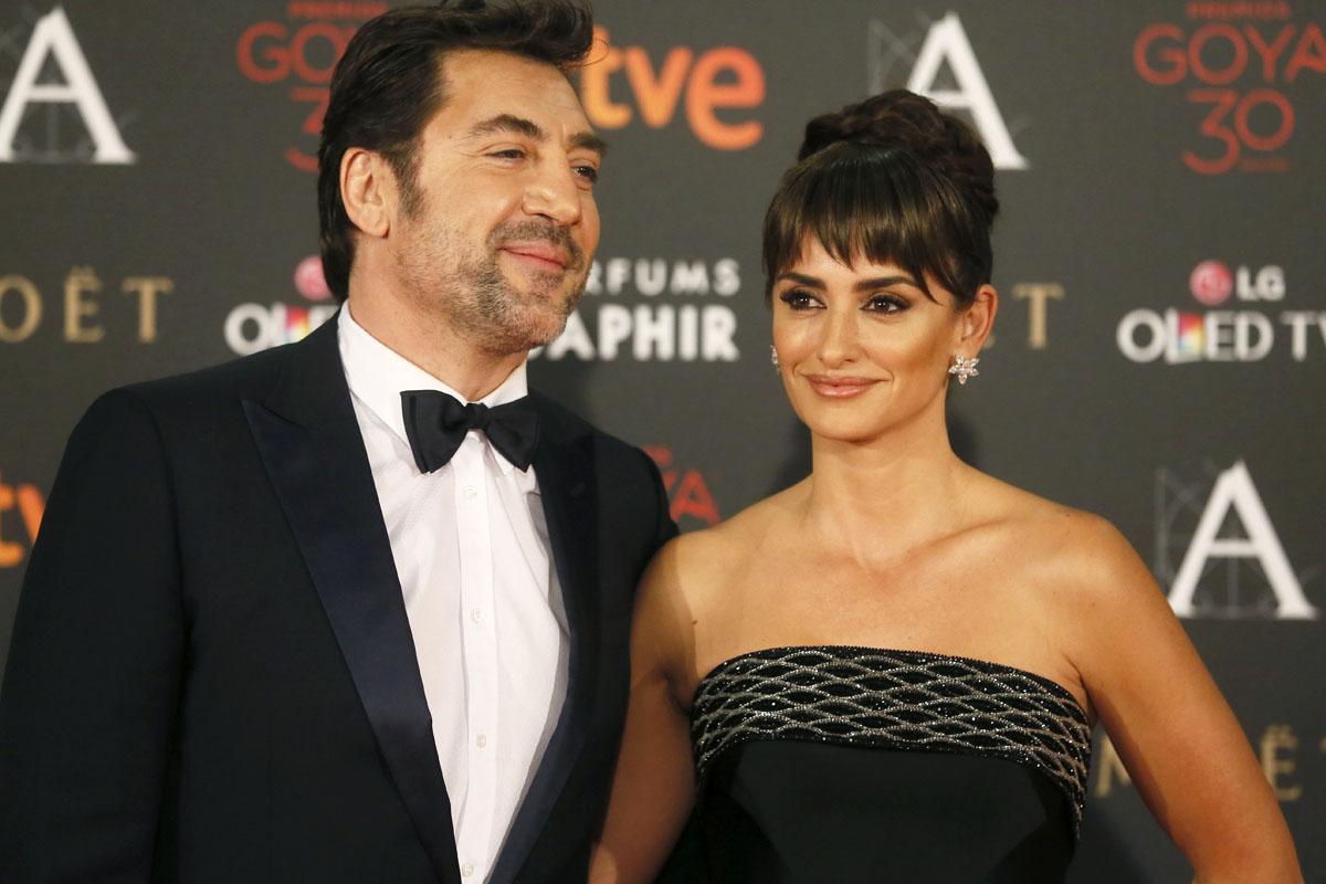 Javier Bardem y Penélope Cruz. (Foto: EFE)