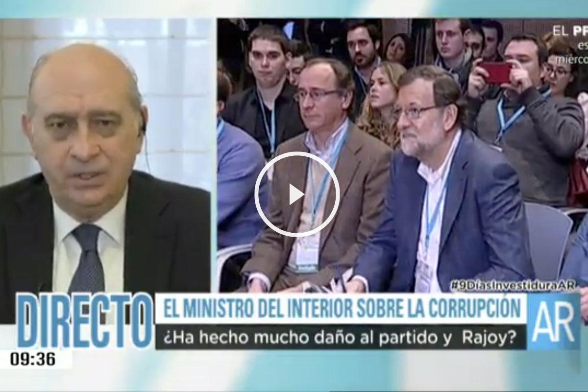 Jorge Fernández Díaz este lunes en Telecinco.