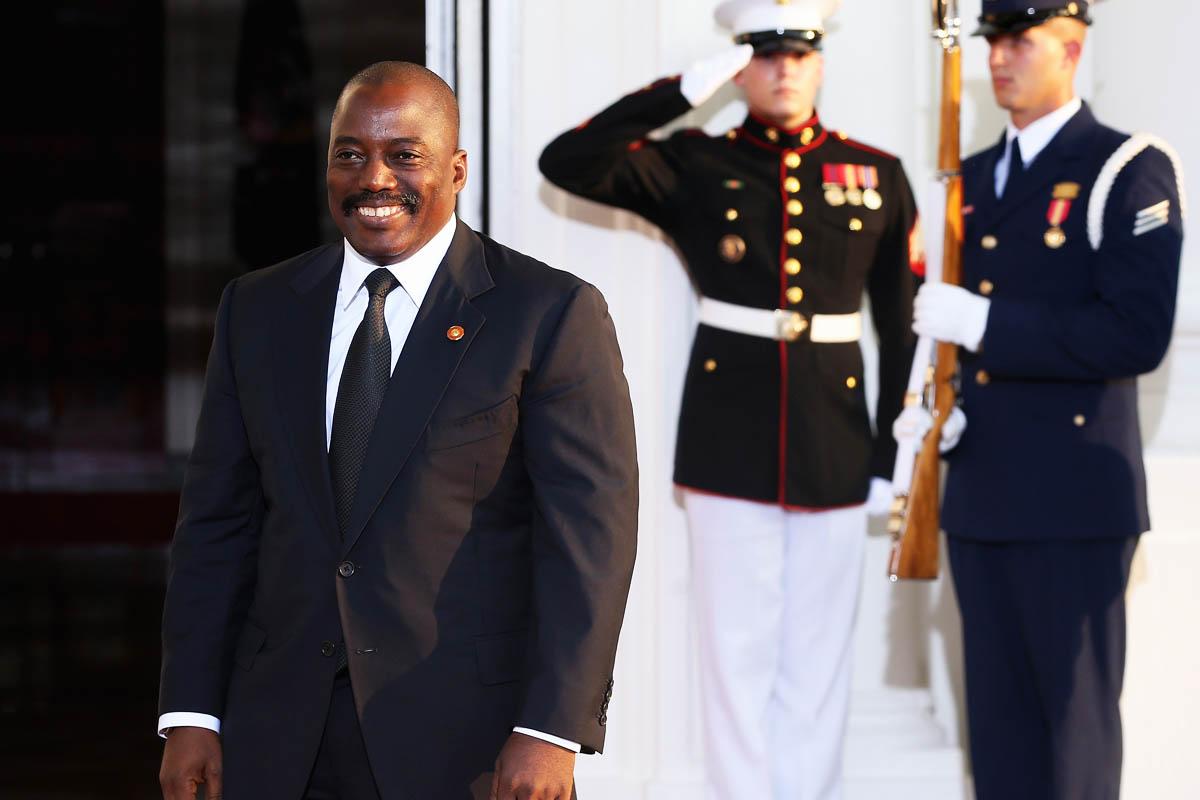 Joseph Kabila, presidente de la República Democrática del Congo (Foto: Getty)