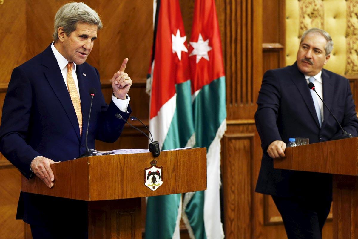 John Kerry, durante su visita a Jordania (Foto: Reuters)