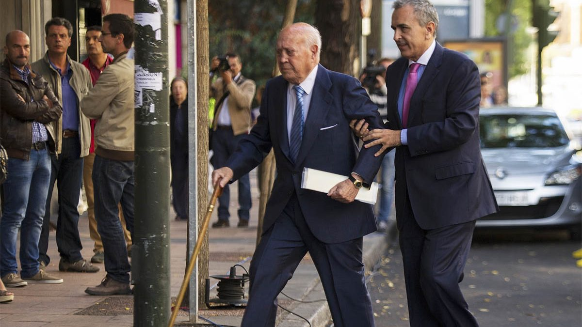El ex tesorero del PP Álvaro Lapuerta. (Foto: Getty)