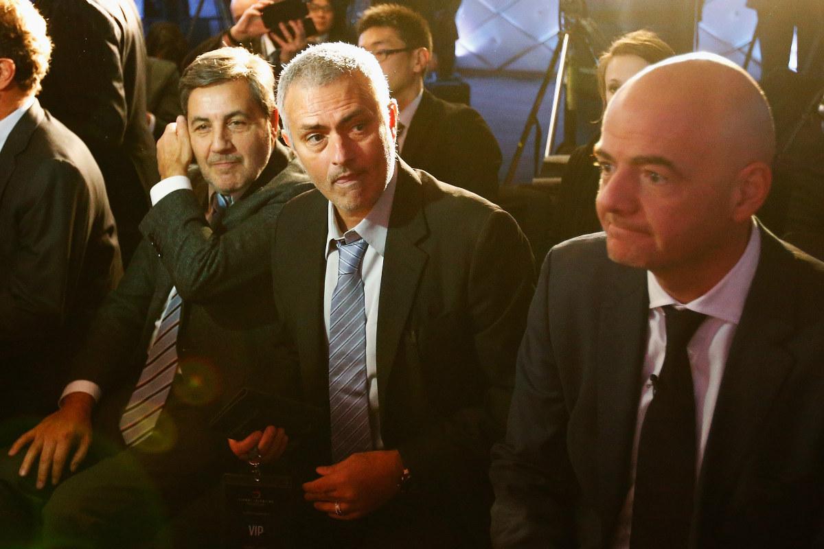 Mourinho apoya a Infantino a la presidencia de la FIFA. (Getty)