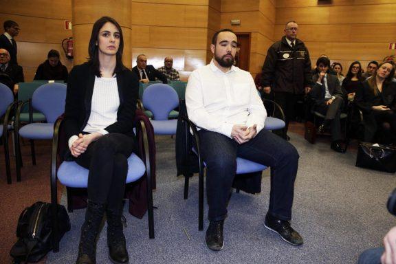 Rita Maestre, en el banquillo de los acusados (Foto: EFE)