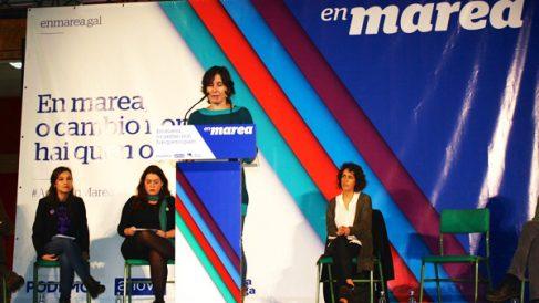 Un acto de en Marea en Pontevedra. (Foto: Facebook/Pontevedrapodemos)