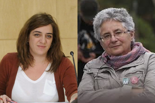 La concejal de Cultura, Celia Mayer, y la del distrito de Tetuán-Moncloa. (Foto:madrid.es)