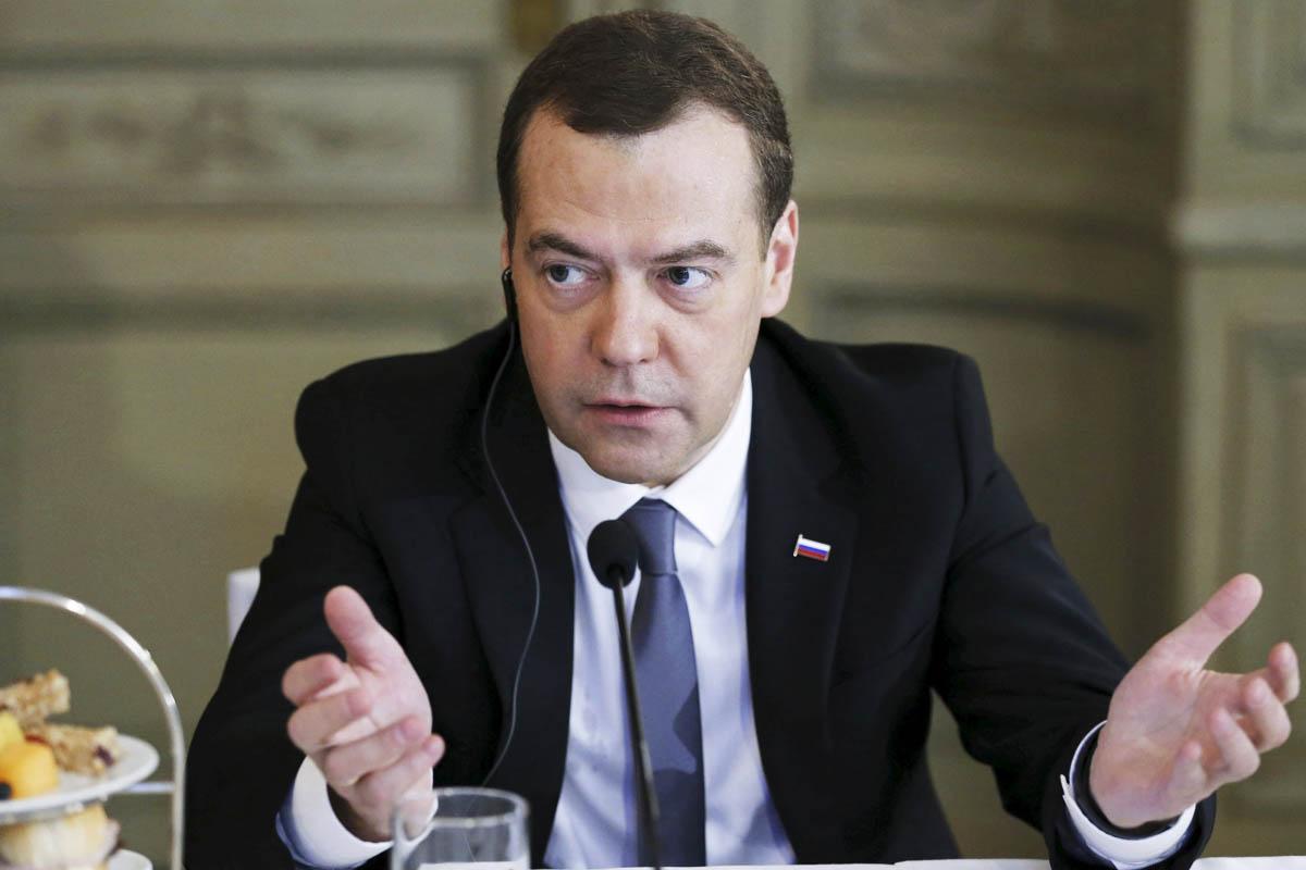 Dimitri Medvedev, primer ministro de Rusia (Foto: Reuters)