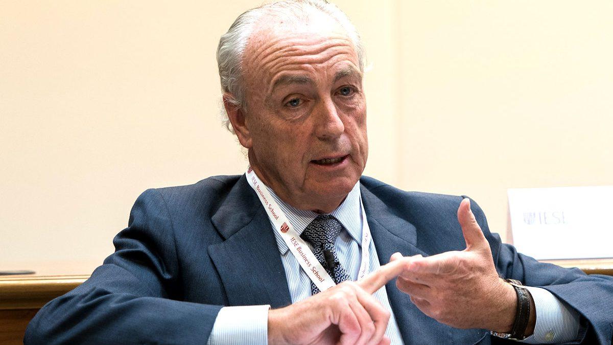 El ex presidente de Isolux, Nemesio Fernández Cuesta. (Foto: IESE)