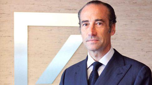 Antonio Rodríguez Pina, presidente y consejero delegado de Deutsche Bank.
