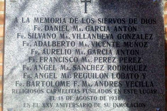 """Esta es la placa retirada """"por error"""" por el Ayuntamiento de Madrid"""