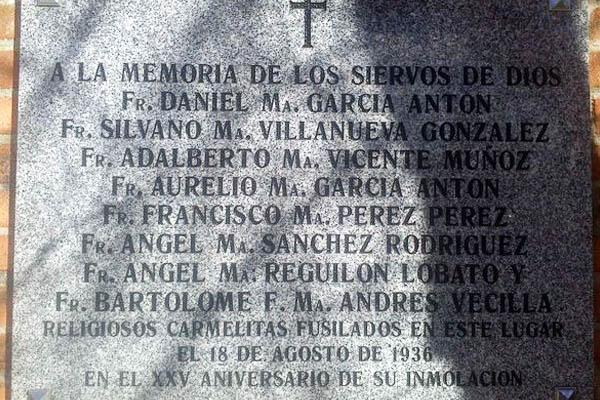 Esta es la placa retirada «por error» por el Ayuntamiento de Madrid