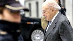 El ex president Jordi Pujol Soley, a su llegada a la Audiencia Nacional. (Foto: EFE)