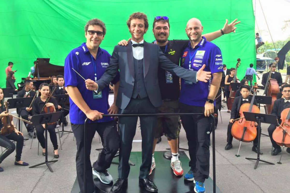 Rossi ya tiene orquestado como será Yamaha en 2017.